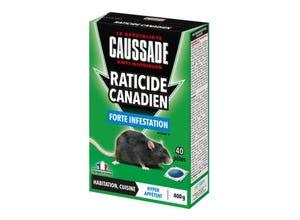 Raticide Canadien forte infestation 400 g