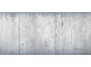 Adhésif décoratif 45cm x 2m - Bois vieilli blanc