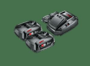Pack Batterie 2 batteries 18V 2,5Ah + chargeur AL1830CV