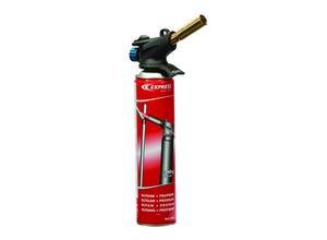 Lampe à souder avec lance flamme dard et cartouche gaz 555