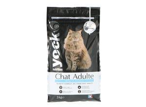 Croquettes Chat Nutrition Adulte Saumon 3 Kg