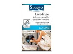 Nettoyant détartrant lave linge/vaisselle (x2)