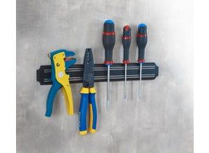 Barrette porte outils magnétique
