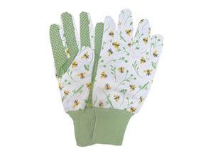 Abeilles gants imprimés