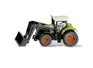 Tracteur CLAAS Axion avec chargeur