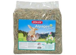 Foin des alpages premium aromatisé menthe-camomille