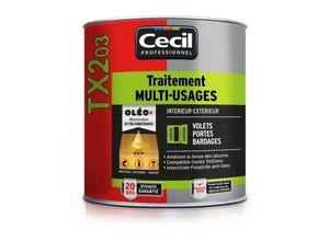 TX203 Traitement multi-usages Intérieur/ Extérieur 1L