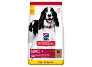 Adult croquettes pour chien à l'agneau et riz 2.5 kg