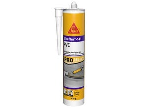 Mastic colle 141 PVC gris 410 gr SIKA
