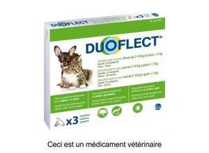 Pipettes antiparasitaires chien (2-10kg) chat>5kg