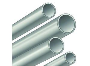 Tube T1 galva bouts lisses 33,7x2,90 mm longueur 6,4 m
