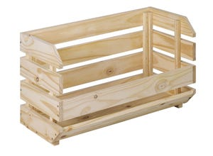 Caisse EVOLUTION empilable 60x28,5x35,3cm pin massif