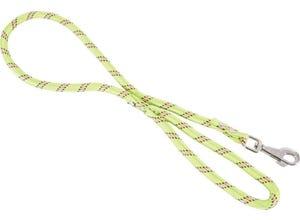 Laisse nylon corde 13mm - longueur 1,20M - anis