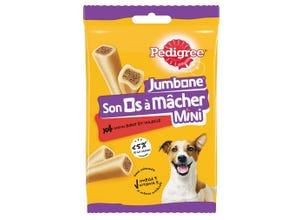 Son os à mâcher petits chiens (x4) - PEDIGREE
