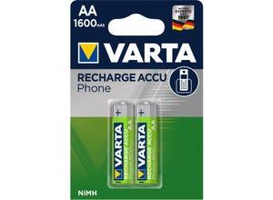 Accu phone AA/HR6 1600 mAh (x2)