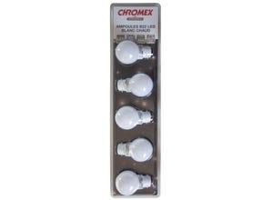 Blister de 5 ampoules B22 blanc chaud