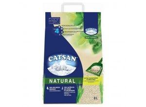 Litière Natural Végétale Agglomérante pour Chat 8L - CATSAN