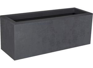 Balconnière gamme basalt up -  gris anthracite - 25 l