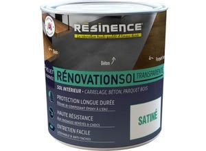 Résine sol - Rénovation Sol Transparente Satin 300ml