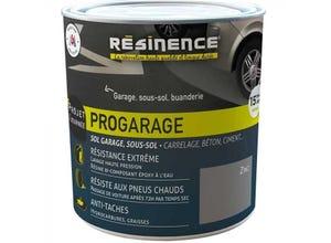 Résine sol - ProGarage Zinc 2L
