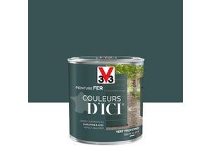 Peinture extérieure Couleurs d'ici vert profond 0.5L