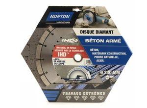disque diamant extreme construction diametre 230