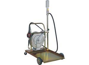 Ensemble pneumatique huile + enrouleur -220 kg 3:1