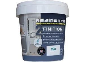 Résine de protection - Finition Mat 250 ml