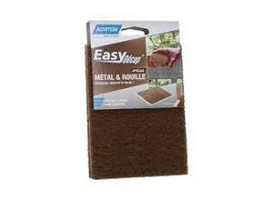 Garniture rectangulaire abrasive / marron / main  / 115*150