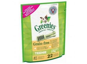 Friandises sticks dentaires Teenie Grain Free 170g-GREENIES