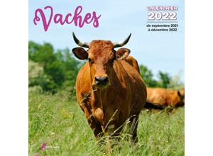 Calendrier vaches 2022