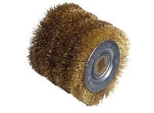 Brosse à fil laitonné de précision Ø60/L60mm
