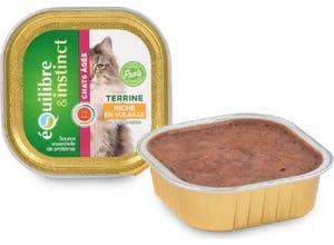 Terrine Chat agé Riche en Volaille barquette 100g