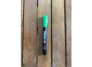 Crayon permanent vert pomme