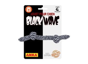 Corde à nœuds ''BLACK WAVE''