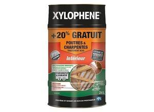 Traitement poutres et charpentes Xylophène 20L + 20%