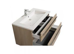 Plan vasque résine pour meuble de salle bain MAIA 90cm