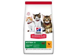 Kitten croquettes pour chaton au poulet 1.5kg
