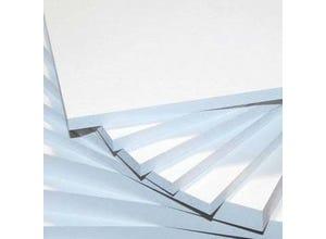 Panneau Forex PVC Blanc - Le m2 - Épaisseur : 10 mm