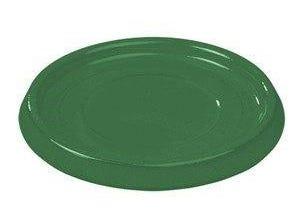Soucoupe 16 cm émail vert