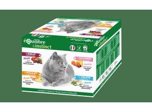Multipack effilés pour chat 4 saveurs 24x85g