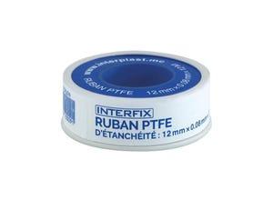 Ruban PTFE d'étanchéité Interfix 12mm