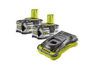 Batterie + chargeur 18V 2X5Ah RC18150-250G