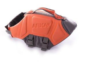 Gilet sauvetage flottant pour chien taille XL orange