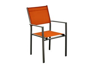 Fauteuil THEMA paprika