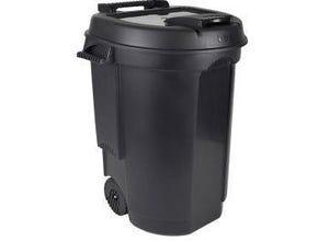 Poubelle plastique 110 litres EDA