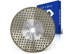 Disque diamant 125x22,2