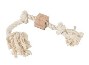 Jouet corde naturelle coton Wild - 3 nœuds
