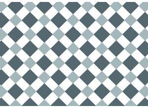 Adhésif décoratif 45x200cm damier gris