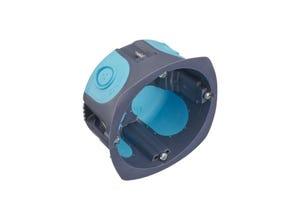 Boite 1 poste multimat stopair D67mm P40mm gris/bleu